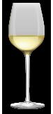 bílé víno košt